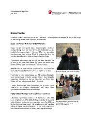 Fadderbrev Ryssland 1 2011.pdf - Pelastakaa Lapset ry