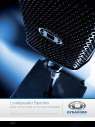 Loudspeaker Systems - Piramis Technika