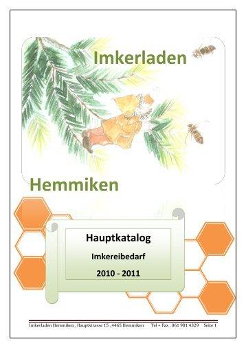Sie können unseren Hauptkatalog 2010 - 2011 downloaden klicken