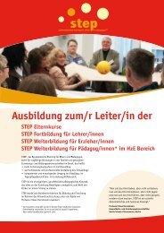 Flyer zum Herunterladen - Deutschland - STEP