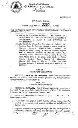SP-2200, S-2013 Proposed No - Quezon City Council