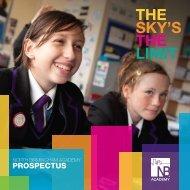 ProsPectus - North Birmingham Academy
