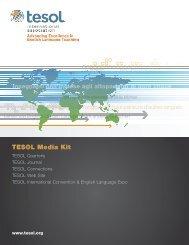 TESOL Media Kit