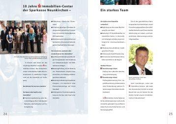 10 Jahre Immobilien-Center der Sparkasse Neunkirchen