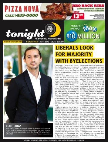 10 million $10 million - tonight Newspaper