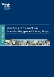 Veiledning til forskrift om brannforebyggende tiltak og tilsyn (revidert)