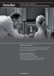Amedor 4-Seiter MEDICA2010 - Amedor GmbH