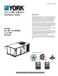 TECHNICAL GUIDE R-410A XP SERIES 15/20 ... - Usair-eng.com on