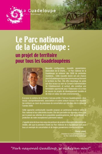 Le Parc national de la Guadeloupe :