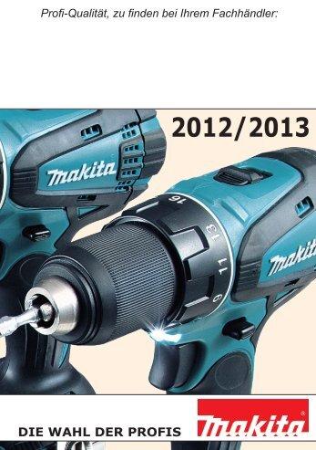 Makita Maschinen - Weber+Widmer AG