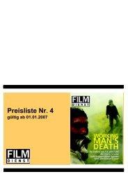 Erscheinungstermine 2007 - Film Dienst