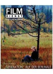 """preise """"berlinale"""" - Film Dienst"""