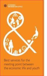 Best services for the meeting point between the economic life and ...