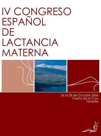 IV Congreso español de lactancia materna - IHAN