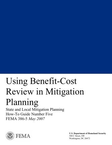 Benefit-Cost Review - Wyoming Homeland Security