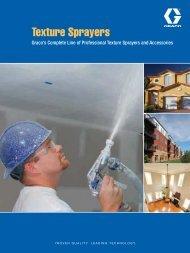 Graco Texture Sprayer Brochure - Graco Inc.
