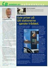 Nyhedsbrev nr. 3 / 2005 - CB Svendsen A/S