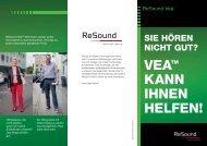 ReSound Vea - Enduser Broschüre
