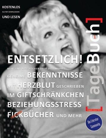 TageBuch [Das Literatur-Magazin der Community] - Tagebuch von ...