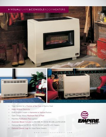 Closed vent systems for Room heating systems