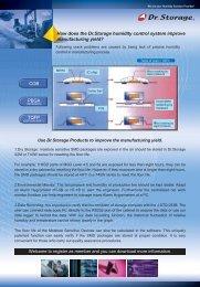 How Dr.Storage Improve Manufacturing Yield - Sinerji Grup
