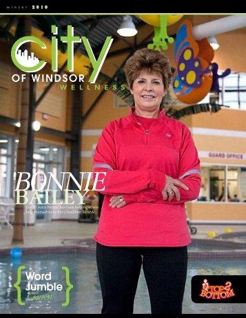 Top 2 Bottom Newsletter (pdf) - City of Windsor Wellness