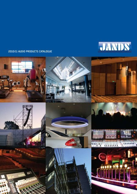 2010/11 AUDIO PRODUCTS CATALOGUE - Jands