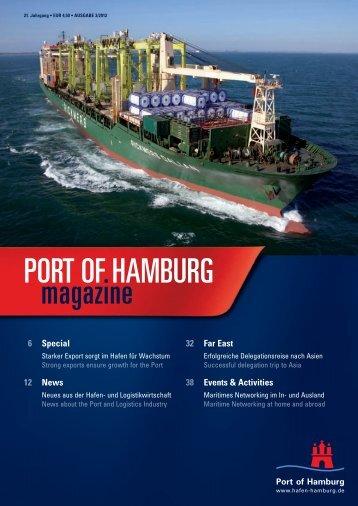 Port of Hamburg Magazin 3-12 - Hafen Hamburg