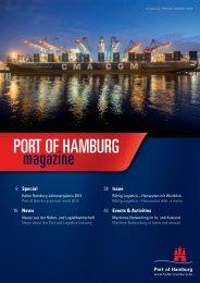 Port of Hamburg Magazine 01/2013 - Hafen Hamburg