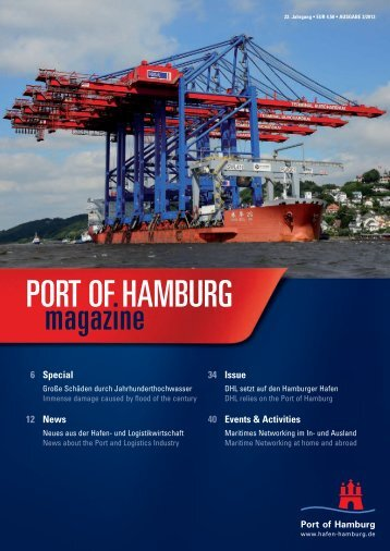 Port of Hamburg Magazine 3/2013
