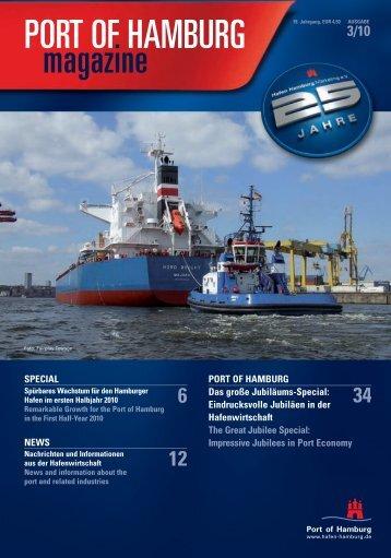 Port of Hamburg Magazin 03 - Hafen Hamburg