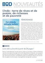 Nouveautés - Books on Demand