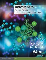 Diabetes Care - University of North Dakota