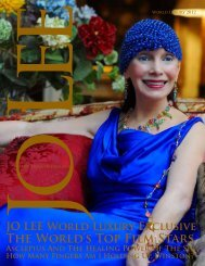 The World's Top Film Stars - JO LEE Magazine