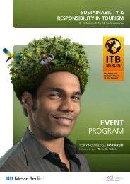 EvEnt Program - ITB Berlin Kongress