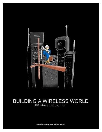 RFM Annual Report 1999 - RF Monolithics, Inc.