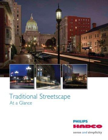 Traditional Streetscape - Hadco