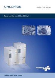 Power Lan Plus from 750 to 3000 VA