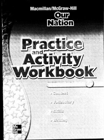 Grade 5 Practice and Activity Workbook - Macmillan/McGraw-Hill