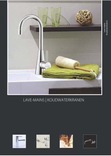 LAVE-MAINS | KOUDWATERKRANEN - KVR