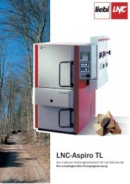 Heizen mit Holz - Liebi LNC AG