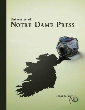 vOTRE DAME PRESS - University of Notre Dame Press