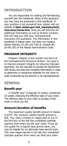 Unemployment Insurance Claimant Handbook - Alaska Department ... - Page 4