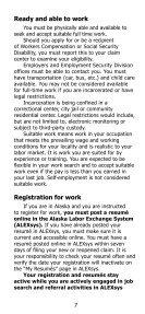 Unemployment Insurance Claimant Handbook - Alaska Department ... - Page 7