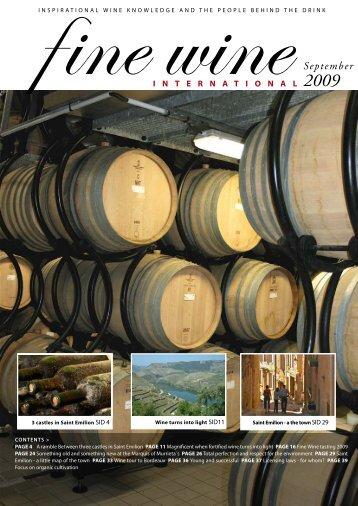 September - Fine wine magazine