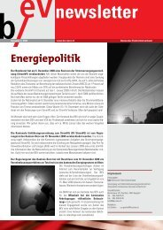 Ausgabe Nr. 02 Winter 2008 - bev