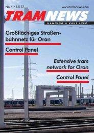 bahnnetz für Oran Control Panel Extensive tram ... - Hanning & Kahl