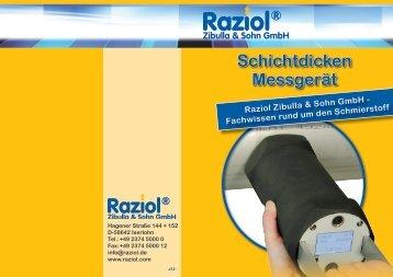 Schichtdicken Messgerät - Raziol