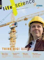 THINK BIG! Karriere mit Bau- und Baustoffmaschinen - life + science