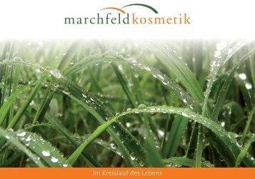 Im Kreislauf des Lebens - Marchfeldkosmetik